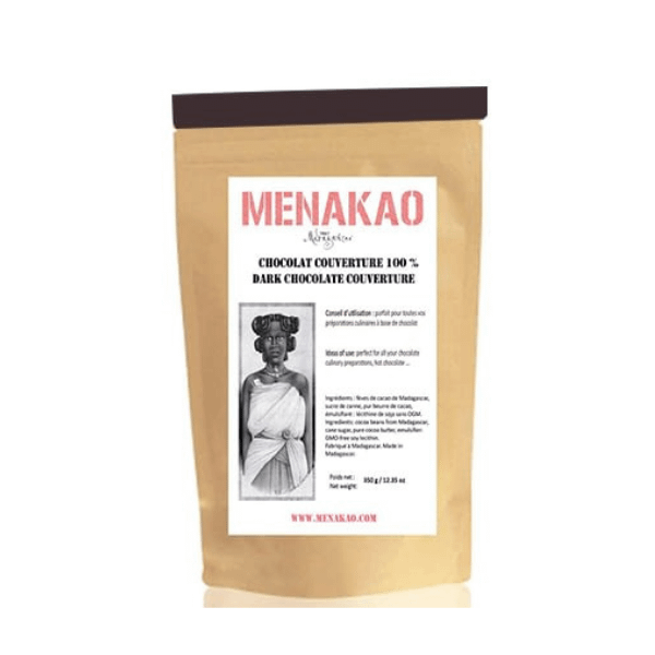 Menakao -Dark Chocolate 100% Couverture 2.5kg