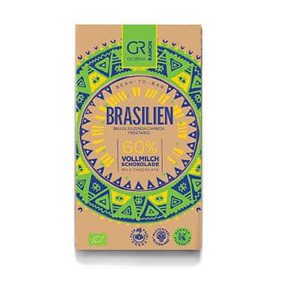 Georgia Ramon - Brasil 60% Dark Milk Chocolate