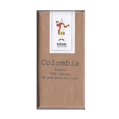 Krak Chocolade - Colombia Arauca 70% Dark Chocolate