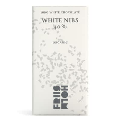 Friis Holm - White Chocolate with Cocoa Nibs