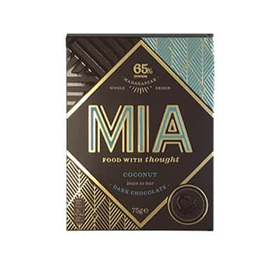 MIA - 65% Dark Chocolate with Coconut (Carton of 10)