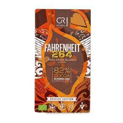 Georgia Ramon - Farenheit 264 Peru-Piura Blanco Nacional 82% Dark Chocolate