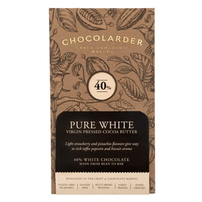 Chocolarder - 40% Pure White Chocolate