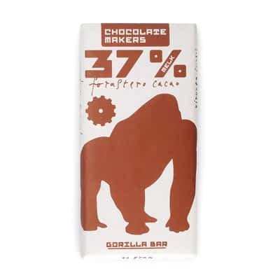 Chocolate Makers Gorilla Bar 37% Milk Chocolate