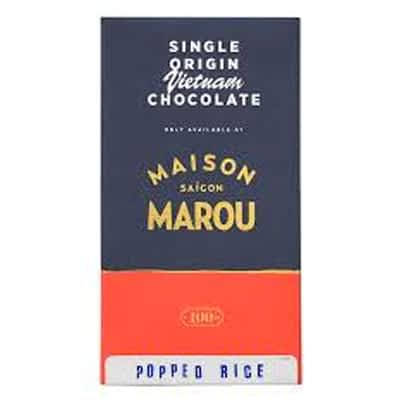 Marou - 65% Dark Chocolate with Popped Rice