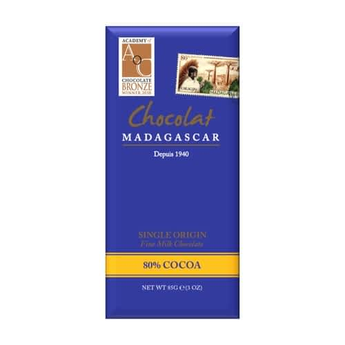 Chocolat Madagascar - Dark Milk Chocolate 80%
