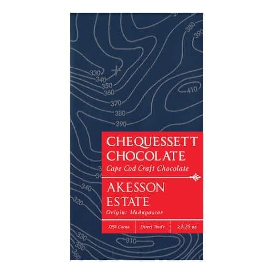 Chequessett - Akesson, Madagascar 72% Dark Bar