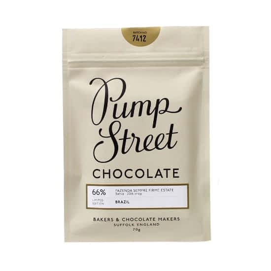 Pump Street - Bahia, Brazil 66% Dark Chocolate