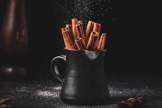Chai Spiced Drinking Chocolate