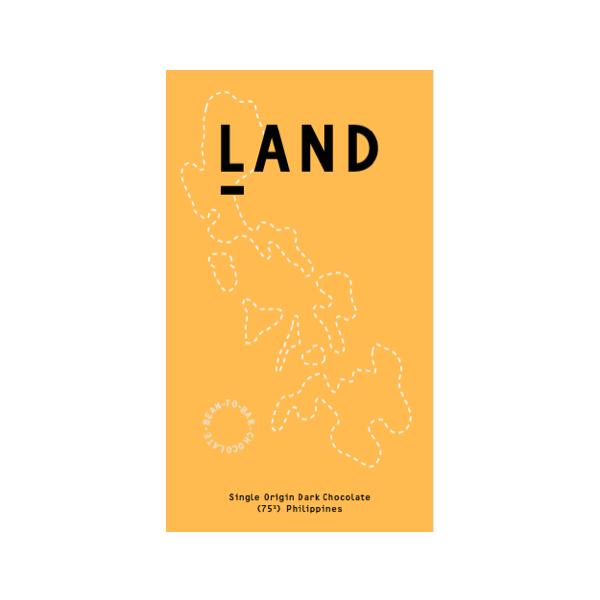 Land - Philippines 75% Dark Chocolate