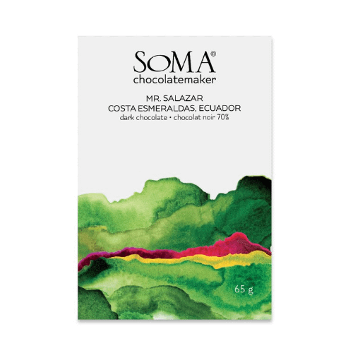Soma - Mr Salazar, Costa Esmerelda 70% Dark Chocolate