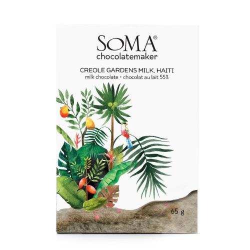 Soma - Creole Gardens Haiti 55% Milk Chocolate
