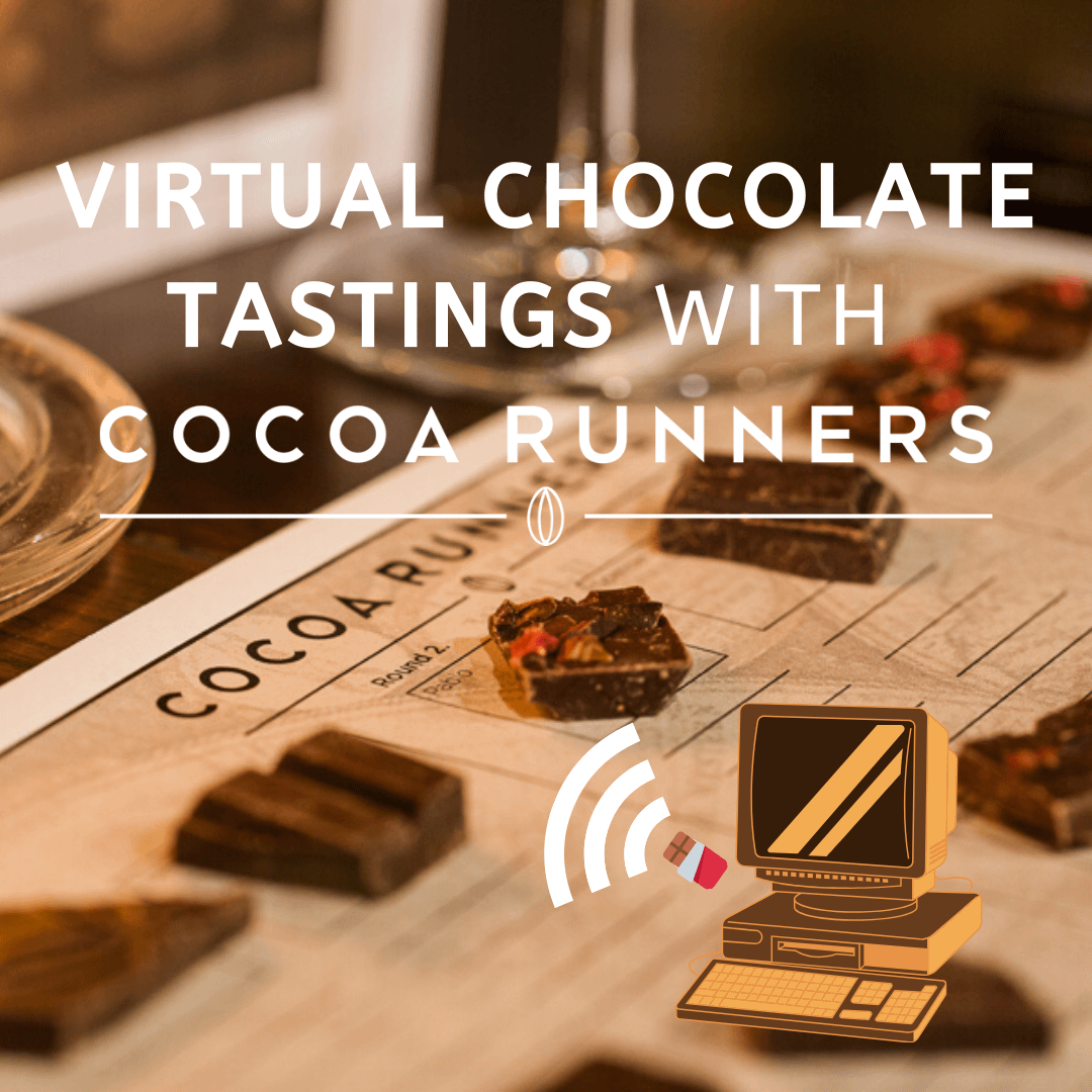Virtual Chocolate Tasting, 1st July 2020, 8pm