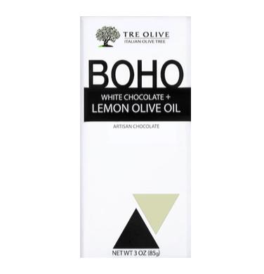 BOHO - White Chocolate + Lemon Olive Oil