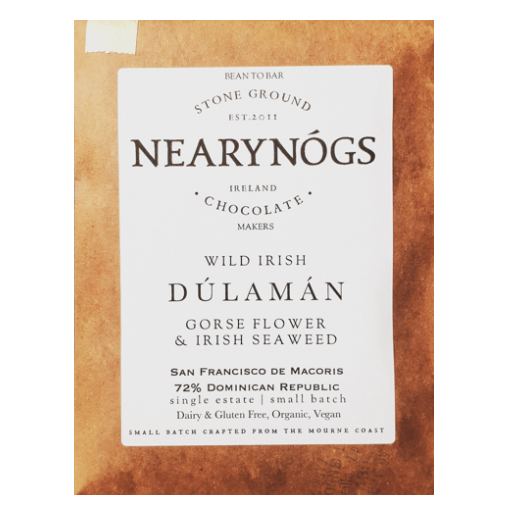 NearyNogs - Gorse Flowers and Irish Seaweed 70% Dark