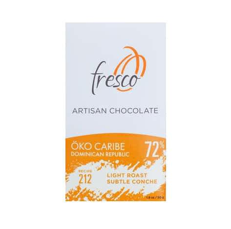 Compare the Vintages: Fresco 212 - Dominican Republic 72%, 2017 and 2019 Harvests
