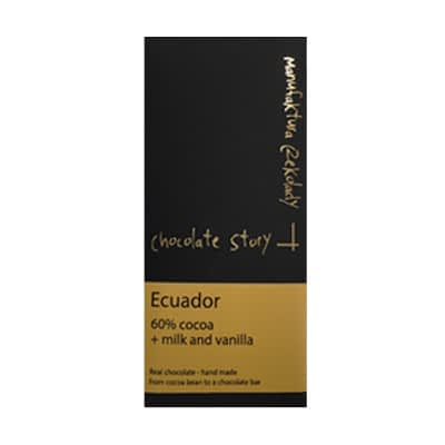 Manufaktura Czekolady - Ecuador 60% Dark Milk Chocolate & Vanilla