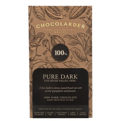 Chocolarder - 100% Pure Dark Peru