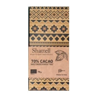 Shattell - Cacao Chuncho 70%