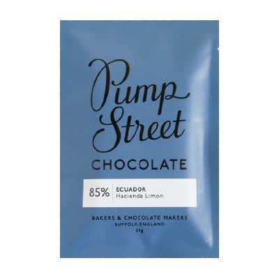 Pump Street Chocolate - Ecuador 85% Taster Bar (Carton of 20)