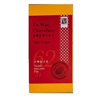 Fu Wan - 62% Taiwan Red Jade Tea Chocolate