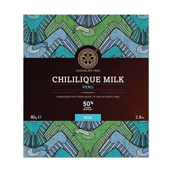 Chocolate Tree - Chililique, Peru 50% Dark Milk