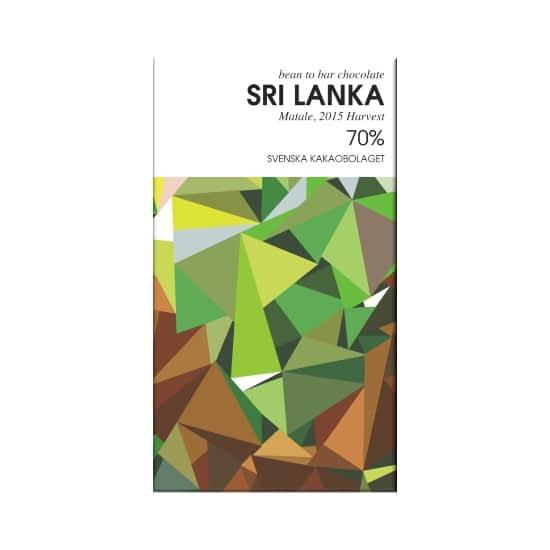 Svenska Kakaobolaget - 70% Sri Lanka, Matale Co-op Dark Chocolate