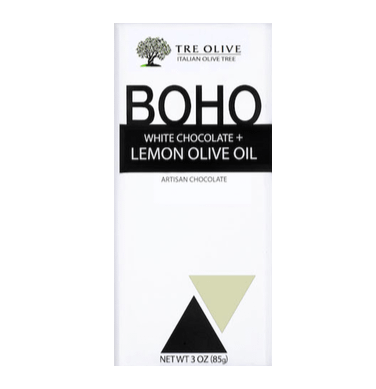 BOHO - White Chocolate + Lemon Olive Oil