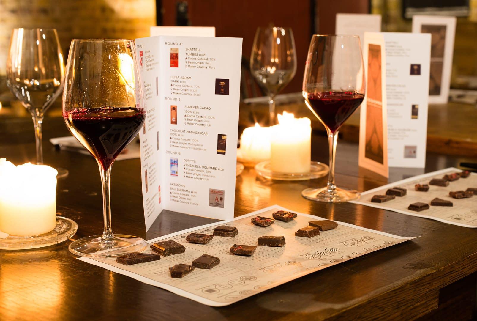 Perfect Pairings - Dark Chocolate and Red Wine