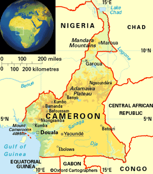 map of camerron
