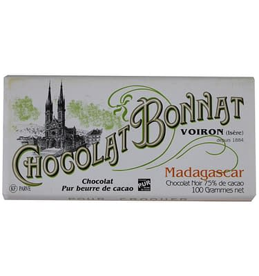 Chocolat Bonnat Madagascar 75