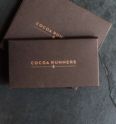 Mini Cocoa Runners Gift Sleeve for Gift Wrapping