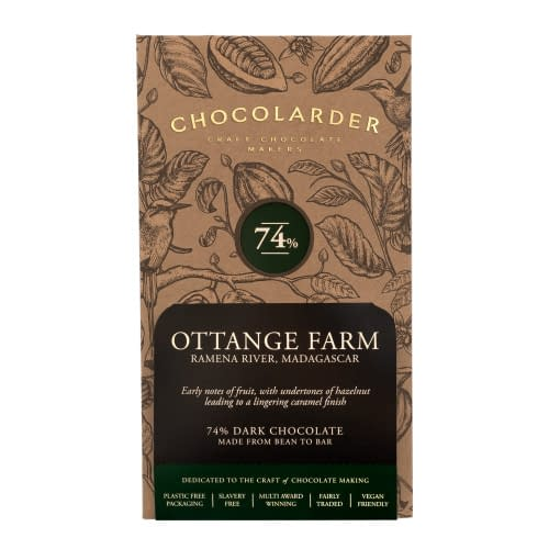 Chocolarder - Ottange Farm, Madagascar 74% Dark Chocolate