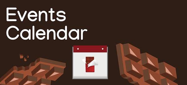 Events Calendar Chocolate