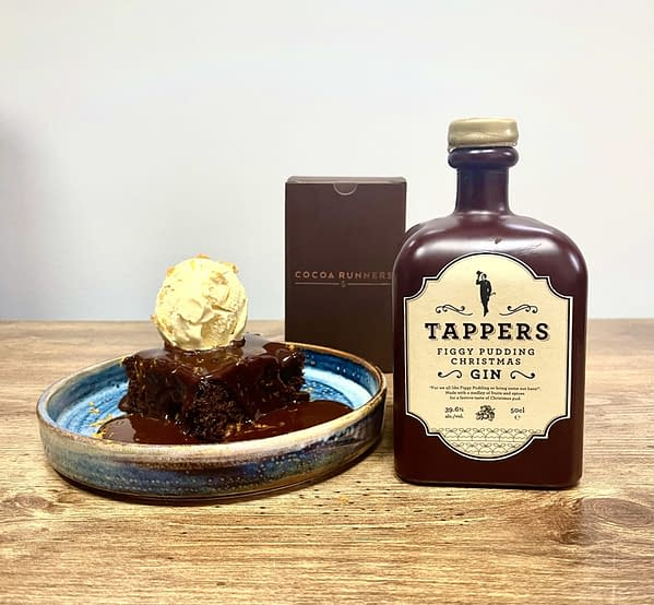 Tappers Gin - Figgy Pudding Cook Along with Simon Rimmer