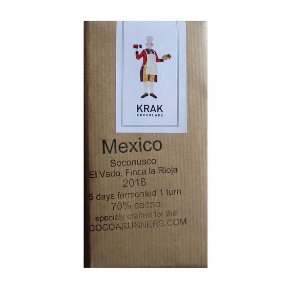 Krak Chocolade - Socunosco, Mexico 5 Day Fermentation