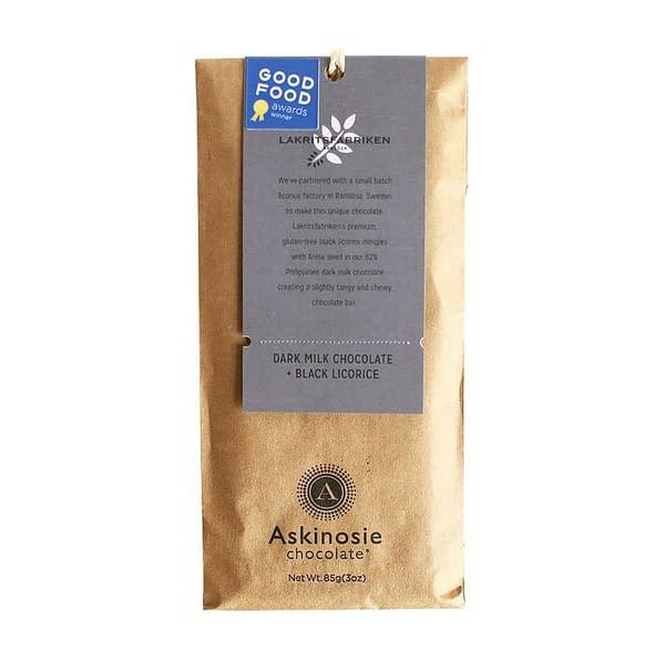 Askinosie - Davao, Philippines 62% Milk with Liquorice