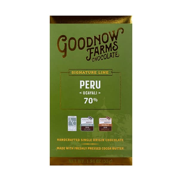 Goodnow Farms Chocolate - Ucayali, Peru 70%