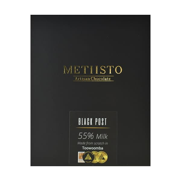 Metiisto - Black Post, Solomon Islands 55% Milk