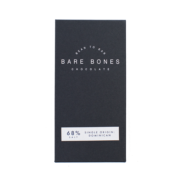 Bare Bones - Dominican 68% Dark with Salt