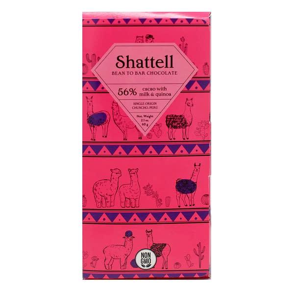 Shattell - Chuncho, Peru 56% Dark Milk with Quinoa