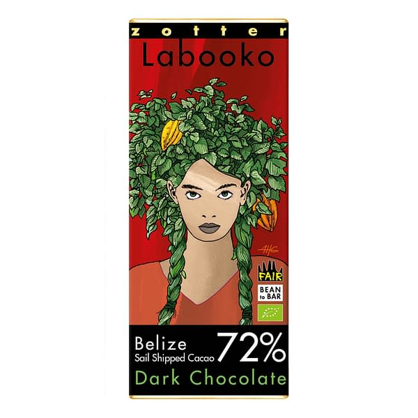 Zotter Labooko Belize 72% Sail-Shipped Cacao