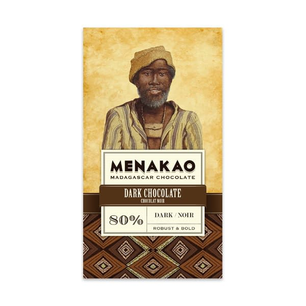 Menakao - Dark Chocolate 80%