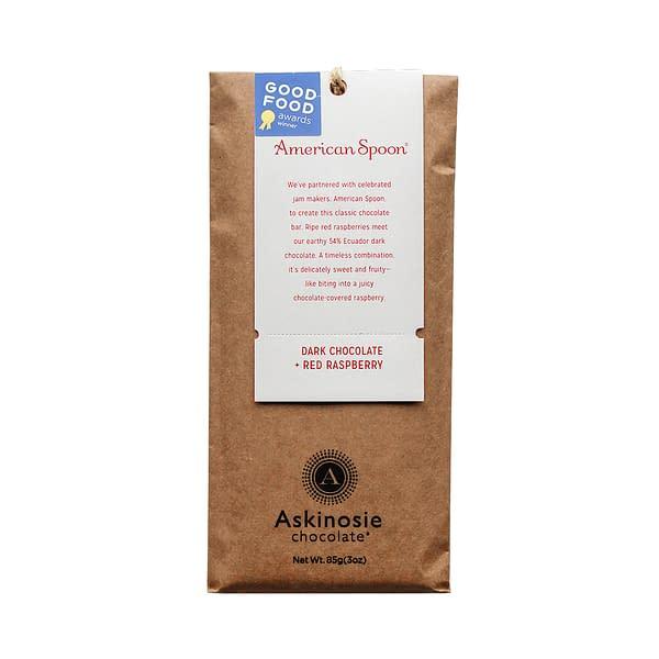 Askinosie - Dark Chocolate + Raspberry CollaBARation