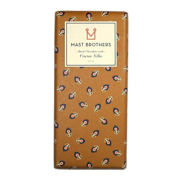 Mast Brothers Dark Chocolate With Cocoa Nibs