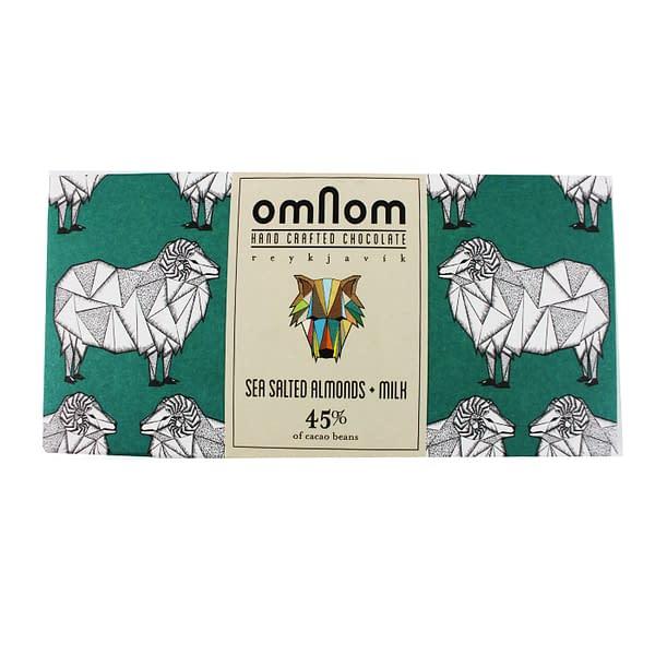 Omnom - Sea Salted Almonds and Milk