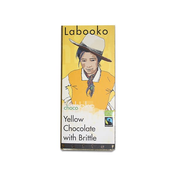 Zotter Labooko - Yellow Chocolate with Brittle
