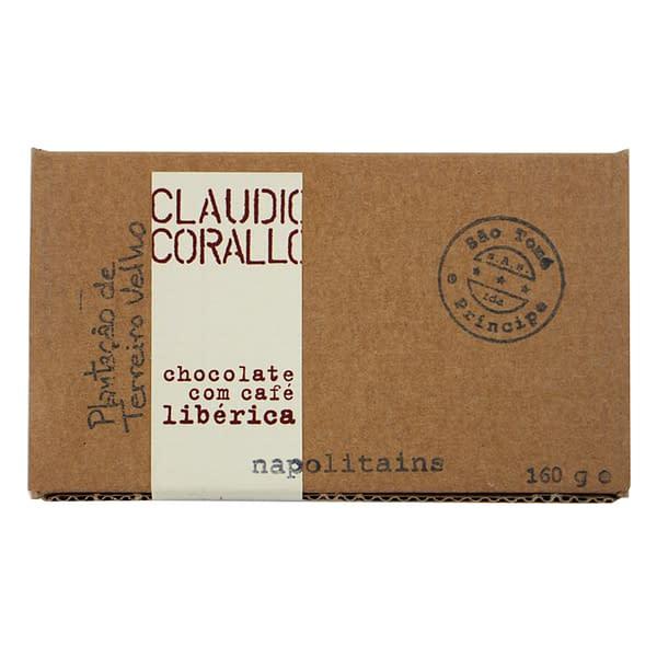Claudio Corallo 70% with Liberica Coffee