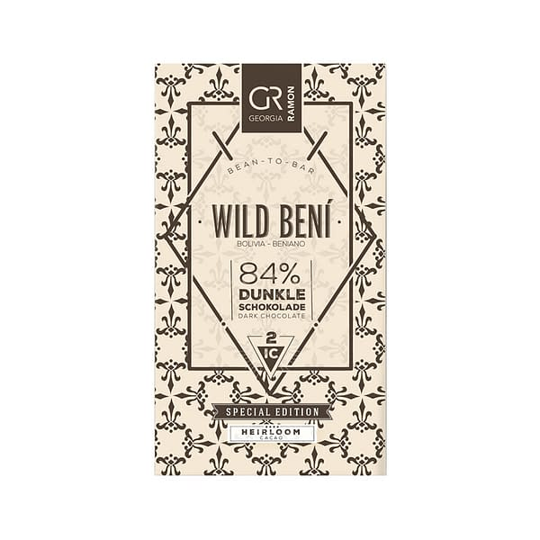 Georgia Ramon - Wild Beni 84% Cocoa