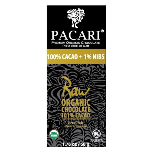 Pacari Raw (unroasted) 101%
